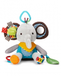 Brinquedo Mordedor - Skip Hop Zoo - Bandana Buddies Elefante