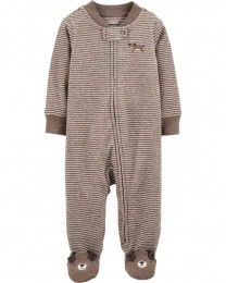 Pijama 2-Way Zip - Cachorrinho - Carter's