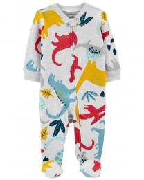 Pijama 2-Way Zip - Dino - Carter's