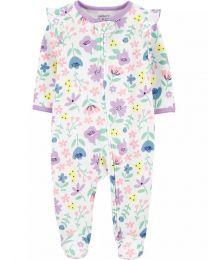 Pijama 2-Way Zip - Floral - Carter's