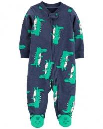 Pijama 2-Way Zip - Jacaré - Carter's