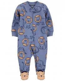 Pijama 2-Way Zip - Leãozinho - Carter's