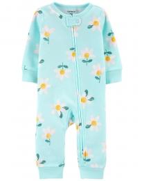 Pijama 2-Way Zip - Margarida - Carter's