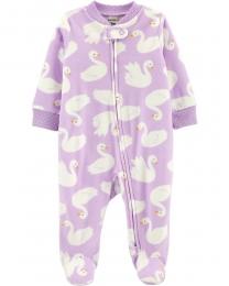 Pijama Fleece - Cisne - Carter's