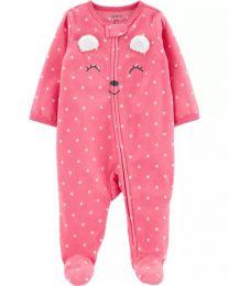 Pijama Fleece - Ursinha - Carter's