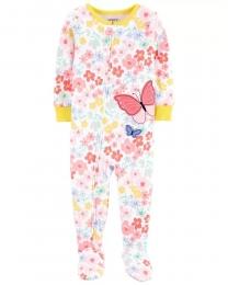 Pijama Menina - Borboleta - Carter's