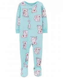 Pijama Menina - Coala - Carter's