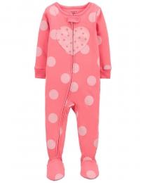 Pijama Menina - Coração - Carter's