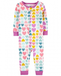 Pijama Menina - Corações - Carter's
