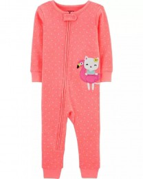 Pijama Menina - Gatinha - Carter's