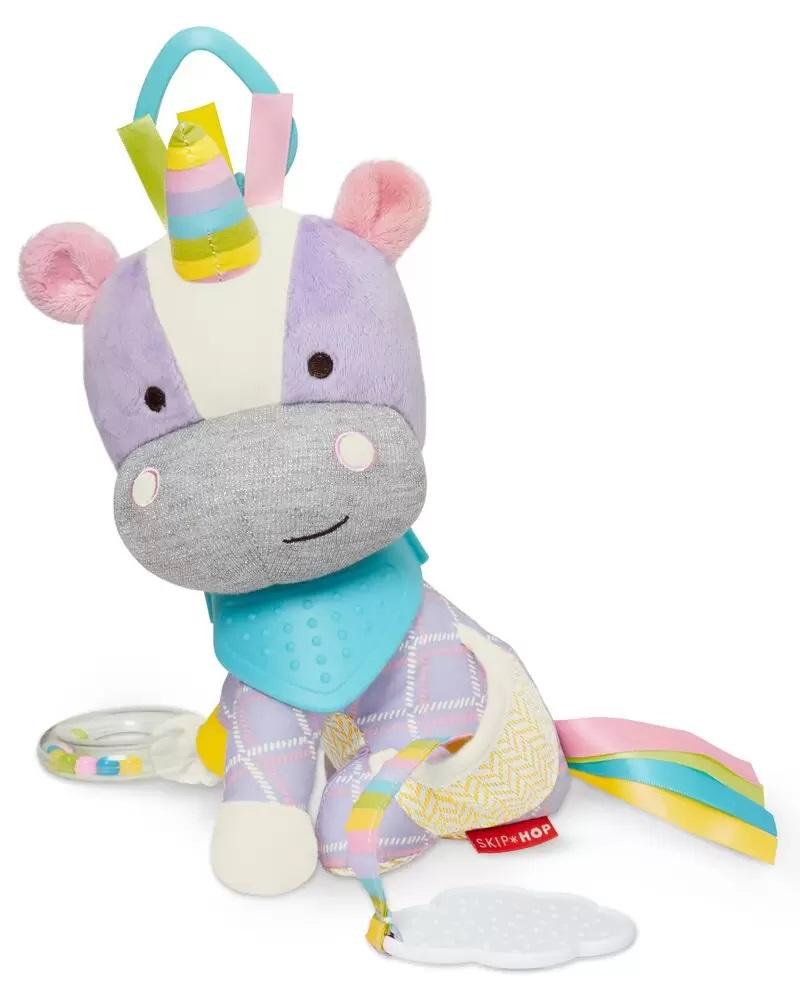 Brinquedo Mordedor - Skip Hop Zoo - Bandana Buddies Unicórnio