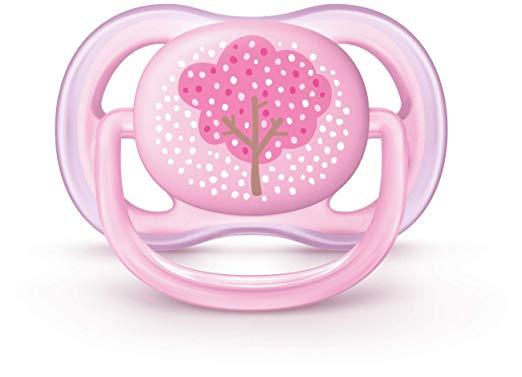 Chupeta Ultra Air Avent Menina (0-6 meses) - Decorada