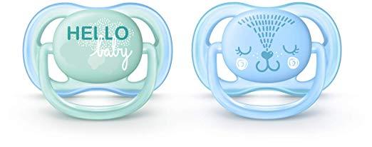 Chupeta Ultra Air Avent Menino (0-6 meses) - Decorada