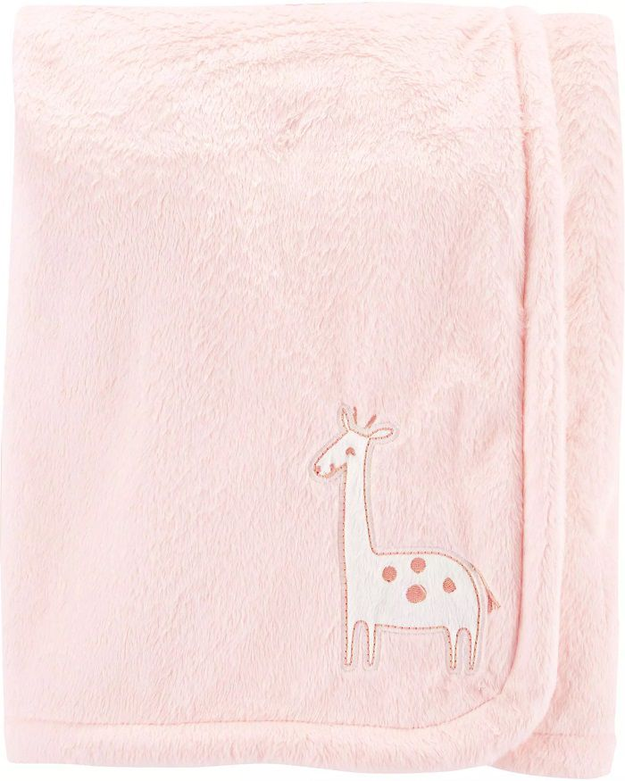 Cobertor Plush Rosa - Girafa - Carter's