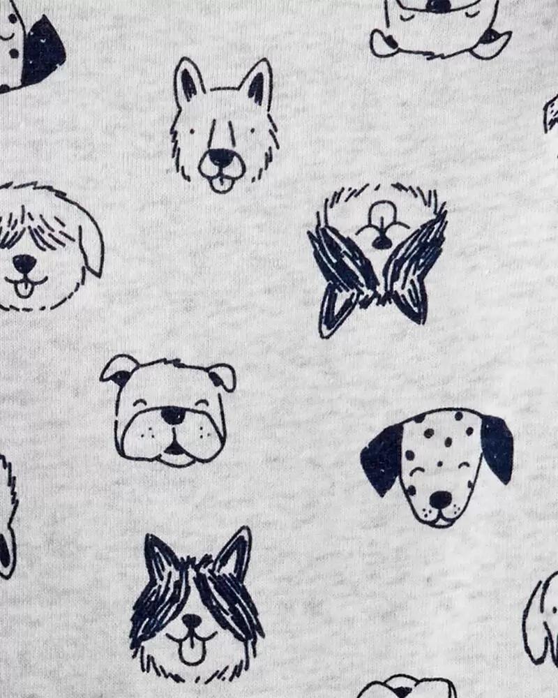Conjunto Blusa, Body e Calça - Urso Azul - Carter's