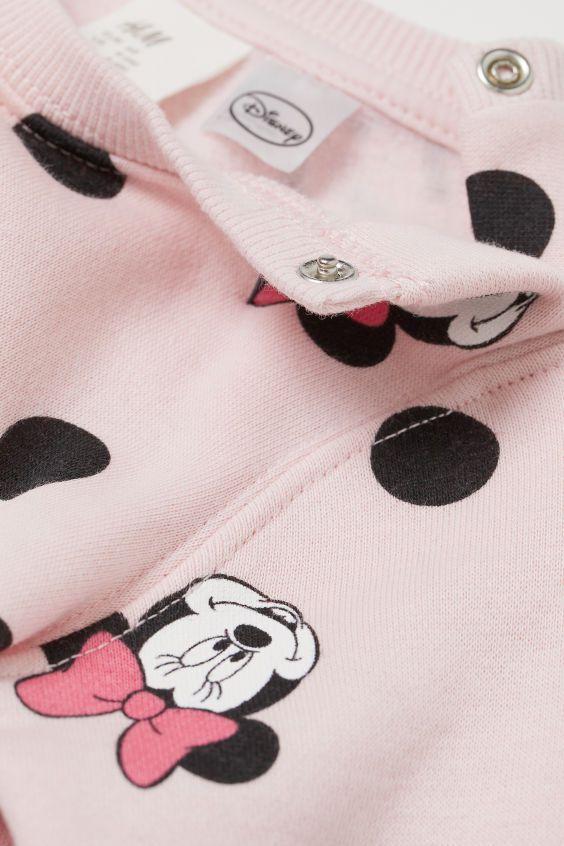 Conjunto Blusa e Calça - Minnie - H&M Disney
