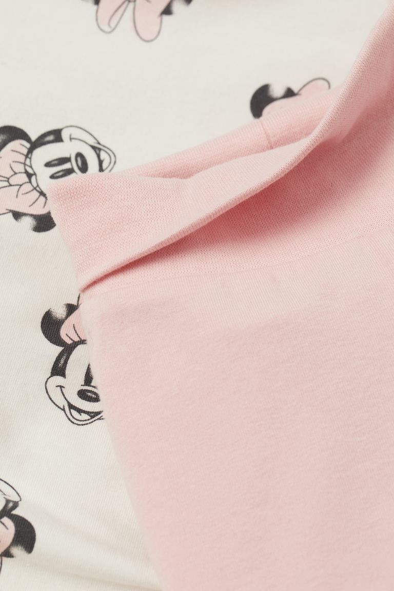 Conjunto Body, Calça e Touca - Minnie - H&M Disney