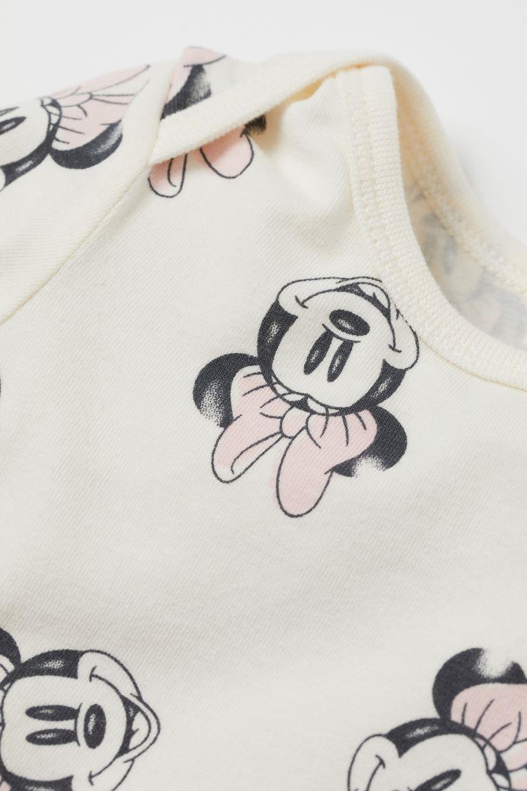Conjunto Body, Calça e Touca - Minnie - H&M Disney