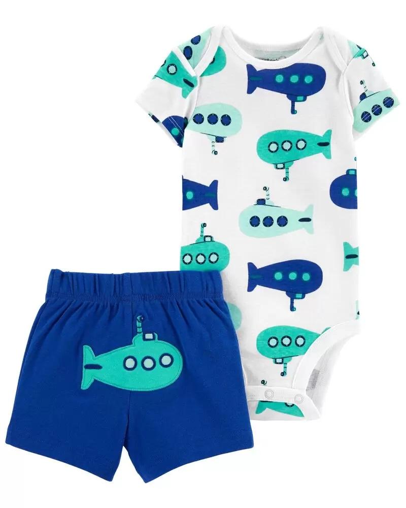 Conjunto Body e Shorts - Submarino  - Carter's