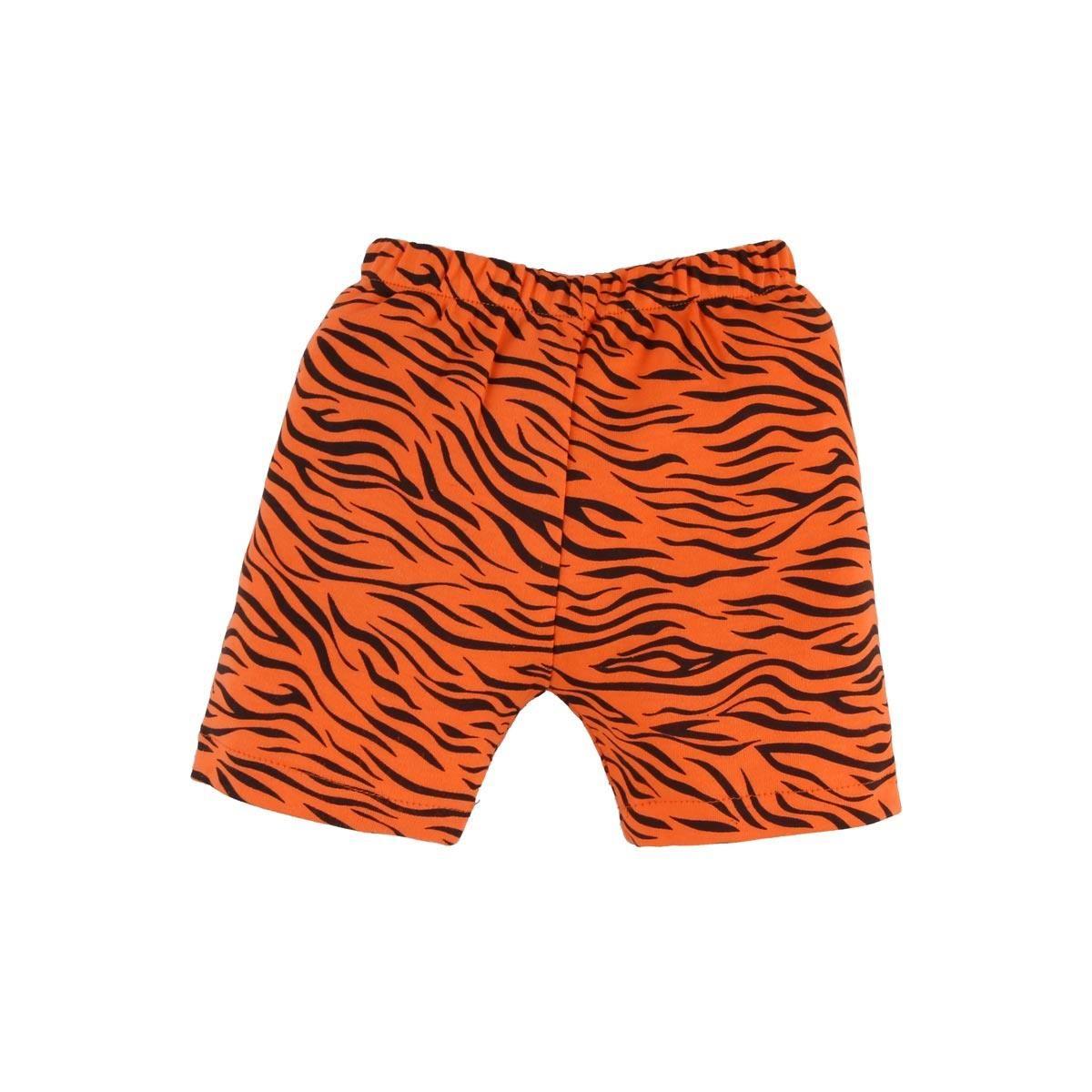 Conjunto Body e Shorts - Tigre