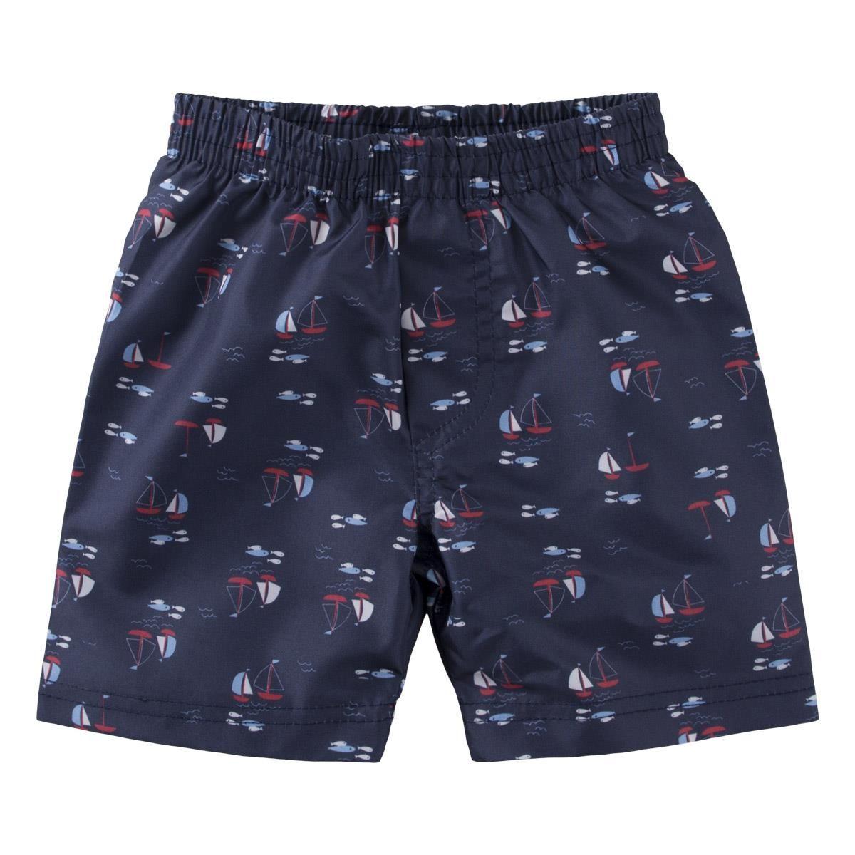 Conjunto Camiseta regata e Shorts - polvo pirata
