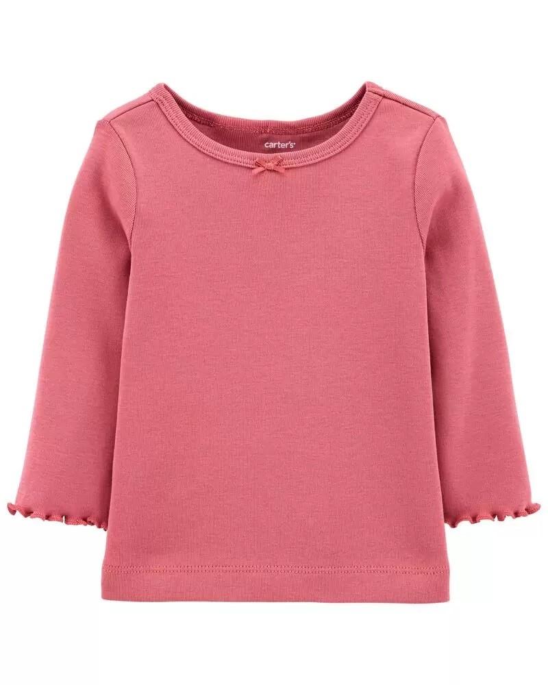 Conjunto Jardineira, Camiseta e Meia Calça - Flores - Carter's