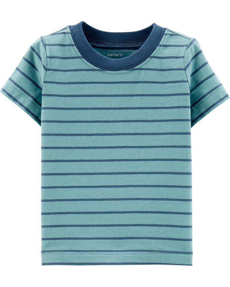 Conjunto Jardineira e Camiseta - Leãozinho - Carter's