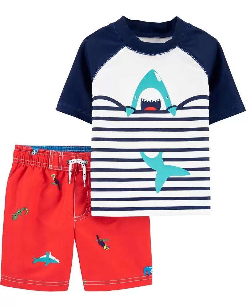 Conjunto Praia - Tubarão - Carter's