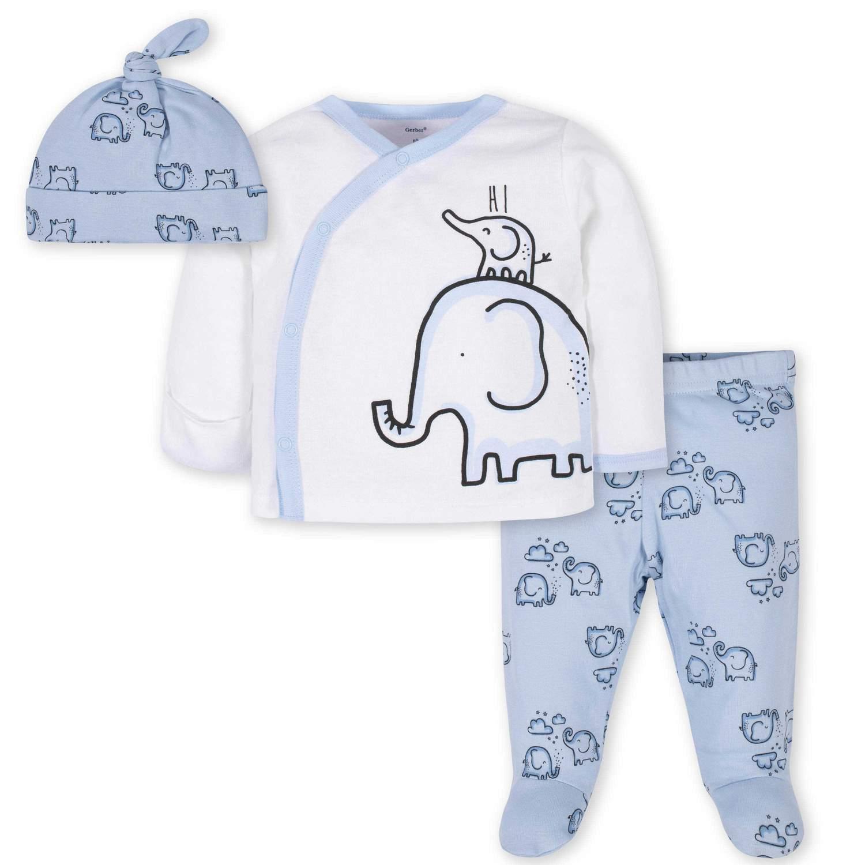 Conjunto Saída Maternidade - Elefantinho - Gerber