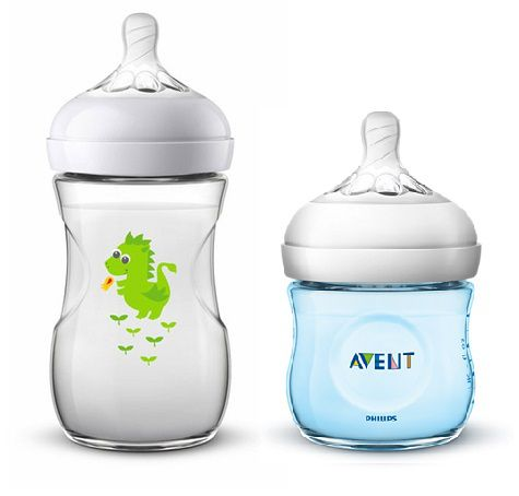 Kit Mamadeira Avent Pétala - 125ml e 260ml - Dragão