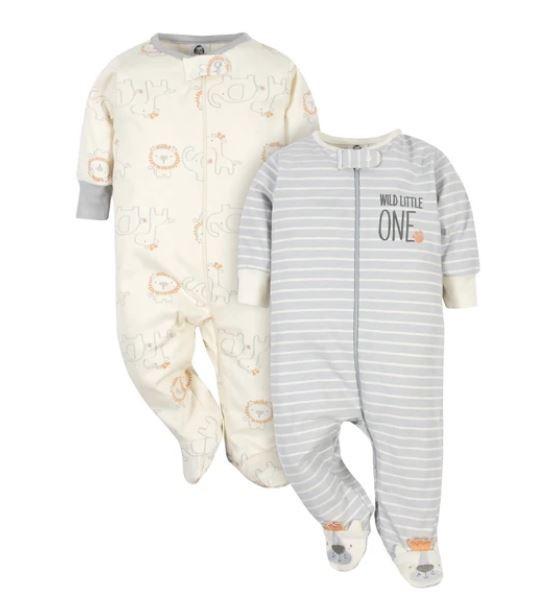 Kit com 2 Pijamas - Safari - Gerber