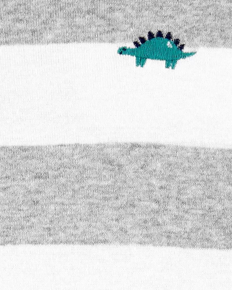 Macacão Curto Romper - Dinossauro - Carter's
