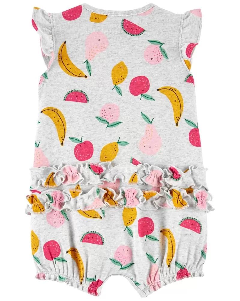 Macacão Curto Romper - Frutas - Carter's