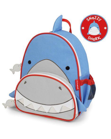 Mochila Backpack Skip Hop Zoo - Tubarão