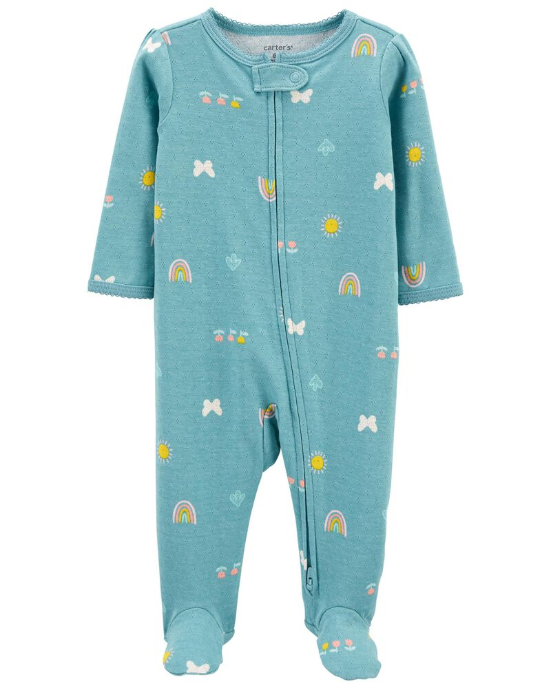 Pijama 2-Way Zip - Borboleta - Carter's
