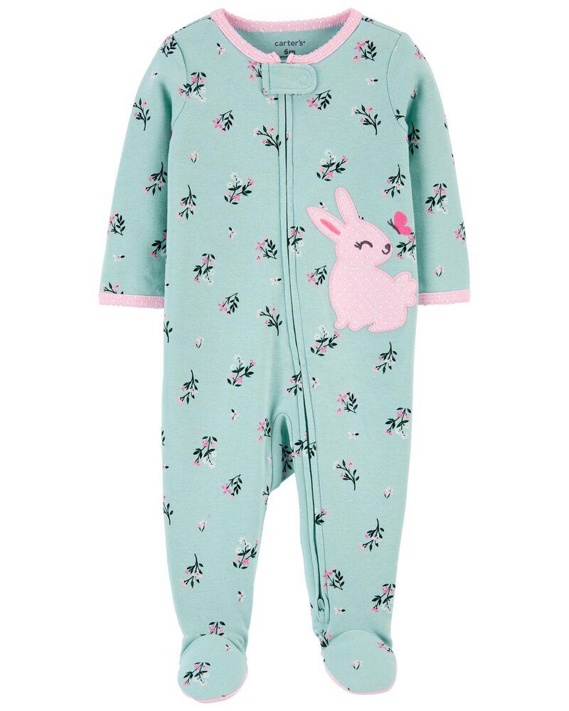 Pijama 2-Way Zip - Coelho - Carter's