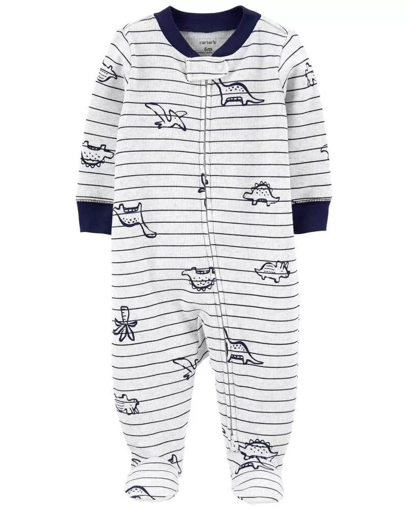 Pijama 2-Way Zip - Dinos - Carter's