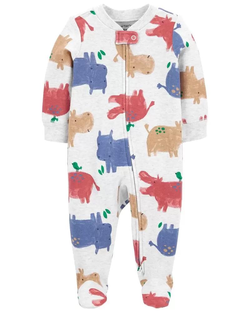 Pijama 2-Way Zip - Hipo - Carter's
