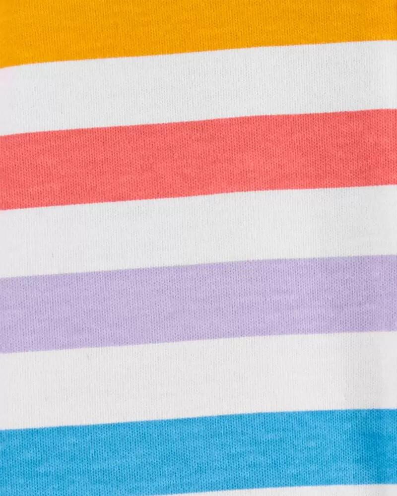 Pijama 2-Way Zip Neutro - Arco ìris - Carter's