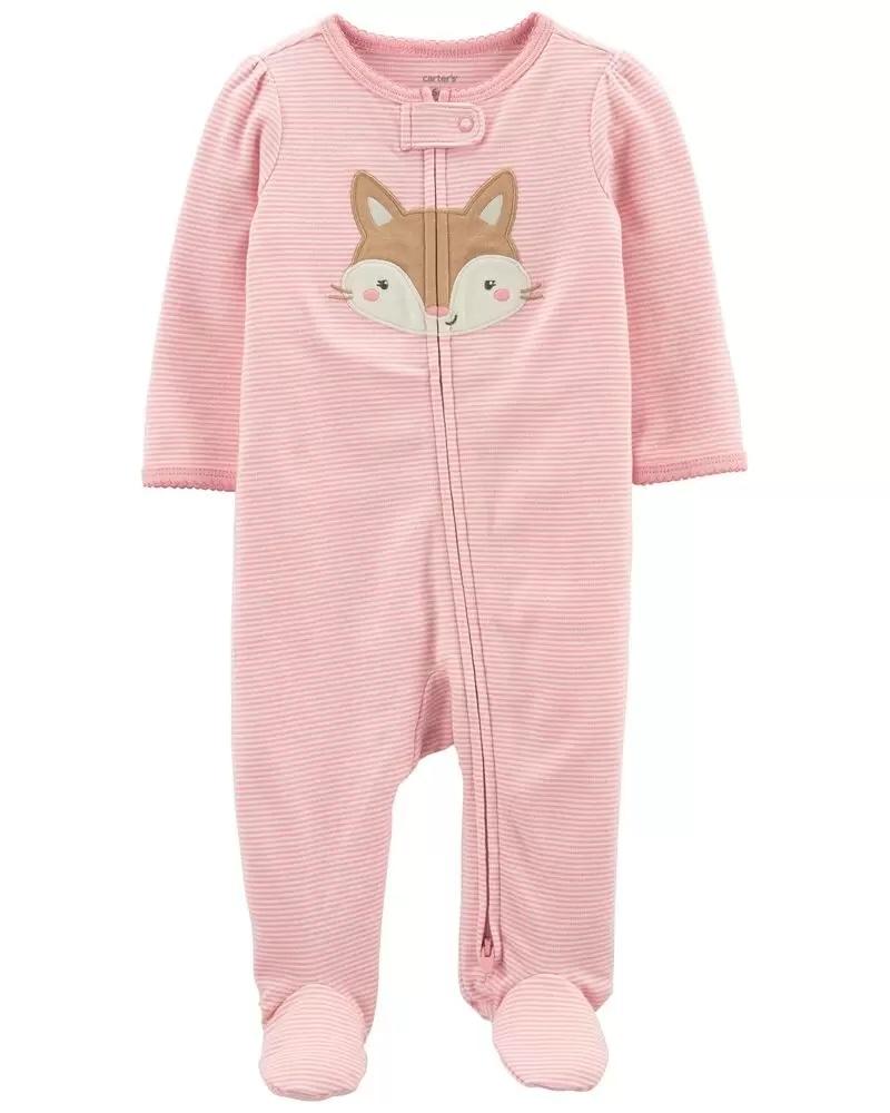 Pijama 2-Way Zip - Raposa - Carter's