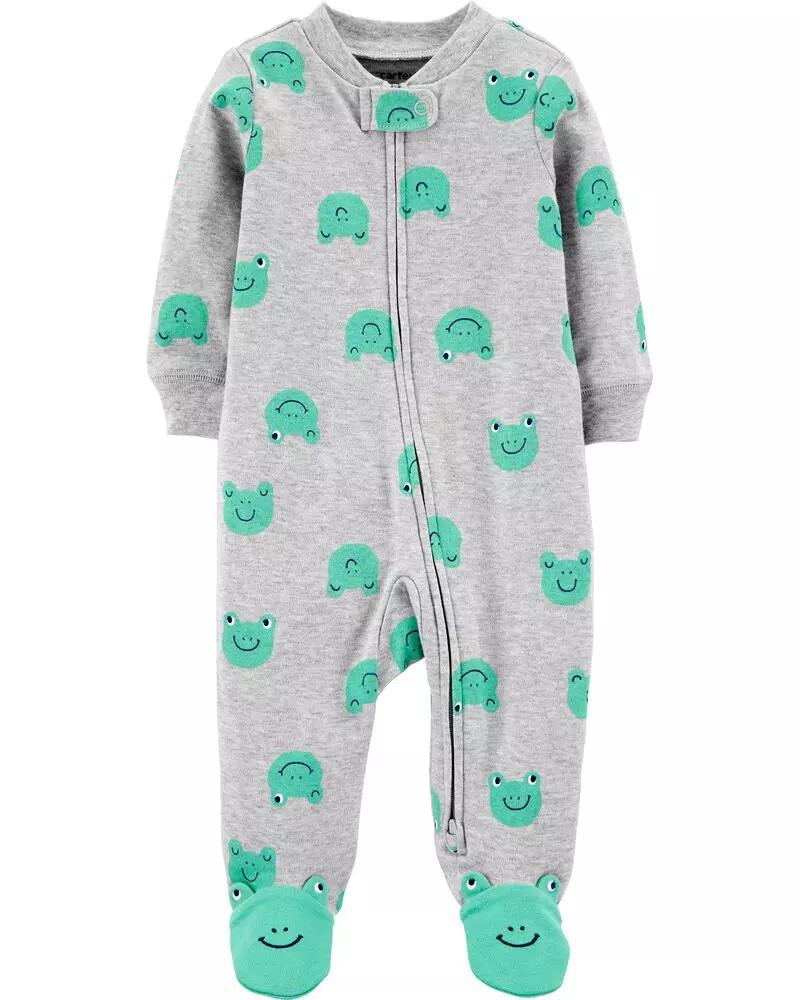 Pijama 2-Way Zip - Sapinho - Carter's