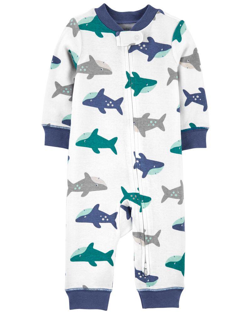 Pijama 2-Way Zip - Tuba - Carter's
