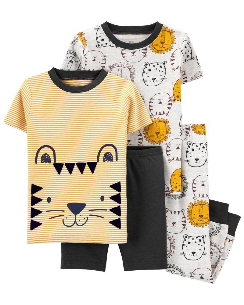 Pijama 4 Peças Menino - Leão - Carter's
