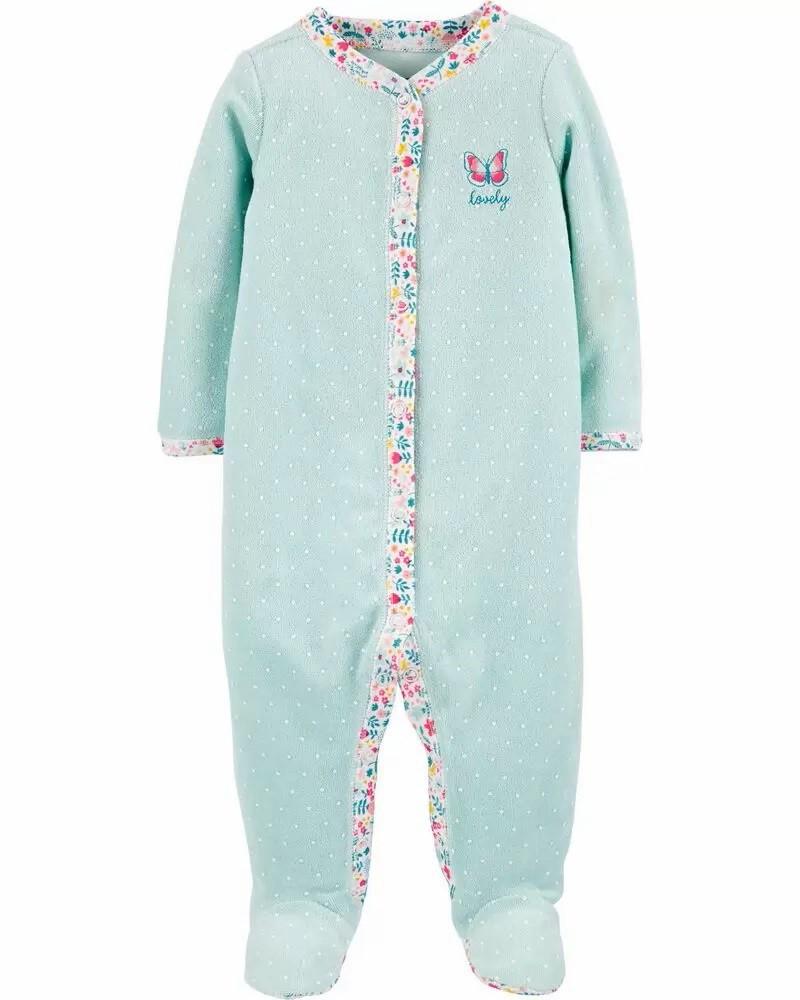 Pijama Terry - Borboleta - Carter's