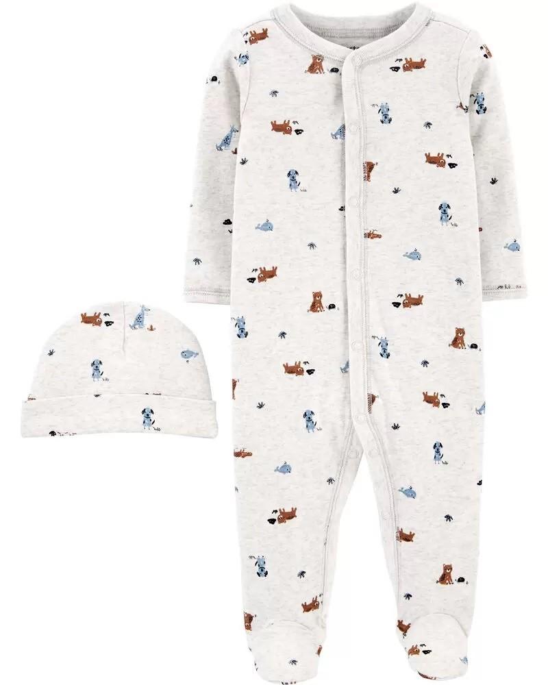 Pijama Com Touca - Cachorro - Carter's