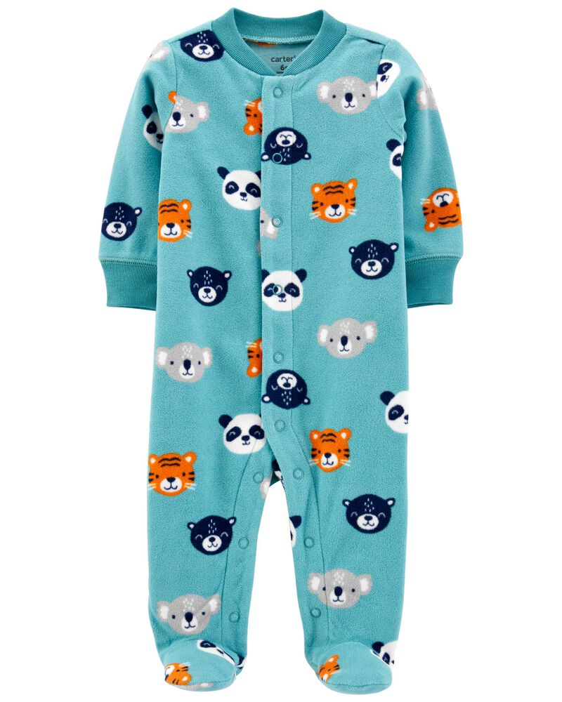 Pijama Fleece - Animais - Carter's