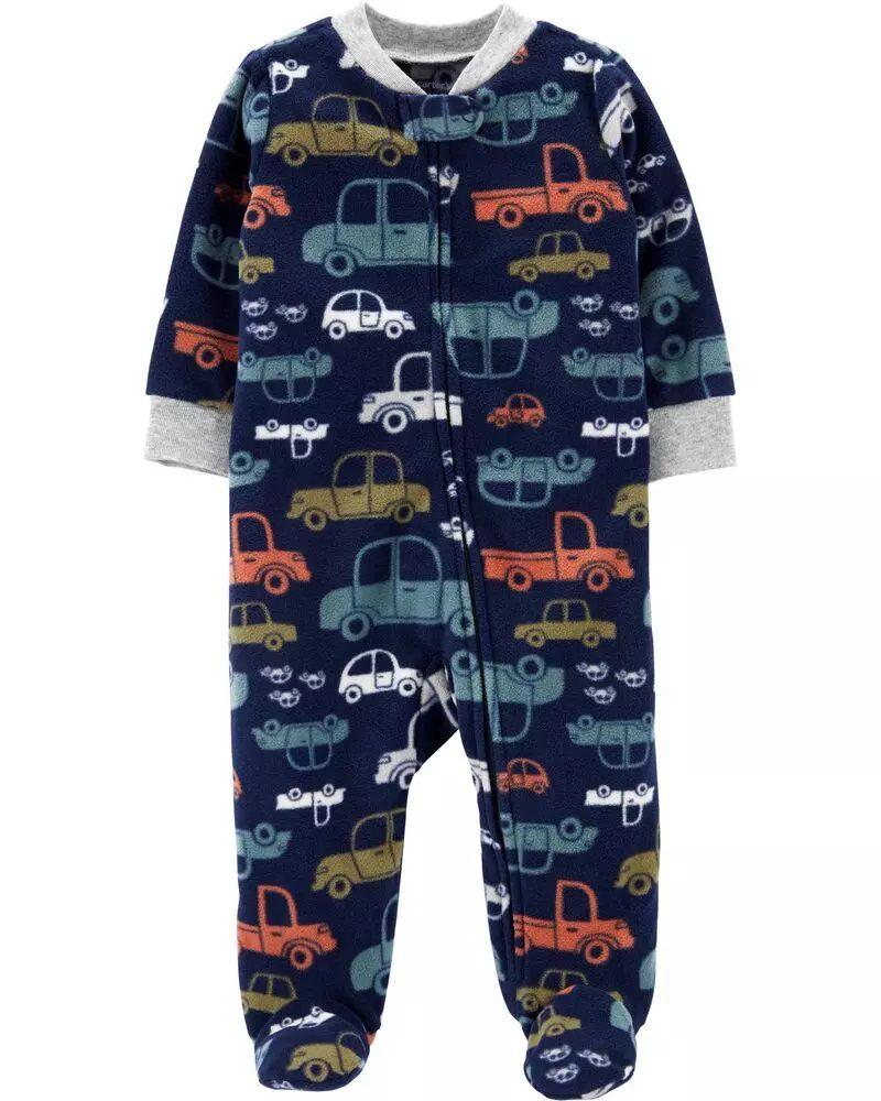 Pijama Fleece - Carrinhos - Carter's