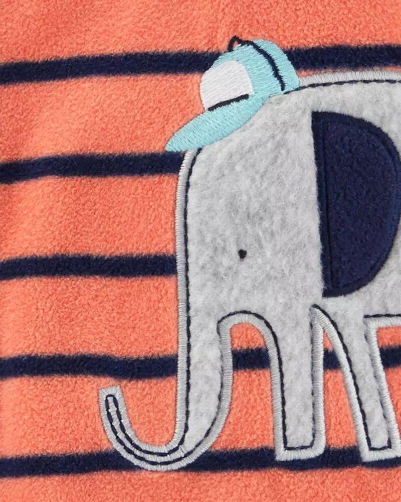 Pijama Fleece - Elefante - Carter's