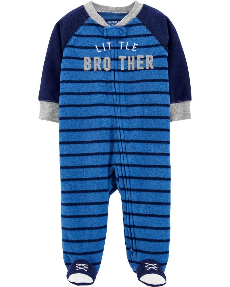 Pijama Fleece - Irmãozinho - Carter's