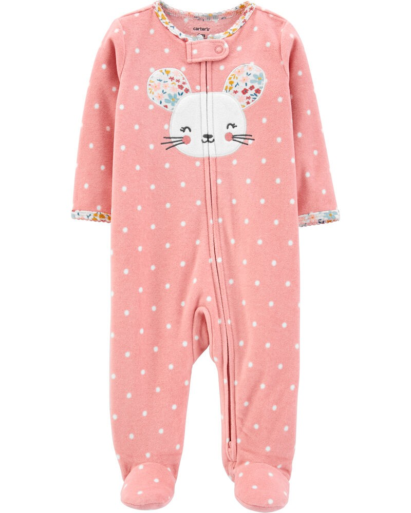Pijama Fleece - Ratinha - Carter's